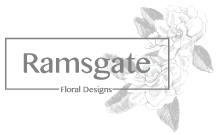 Ramsgate Logo - Lush Greens with Roses Casket Spray