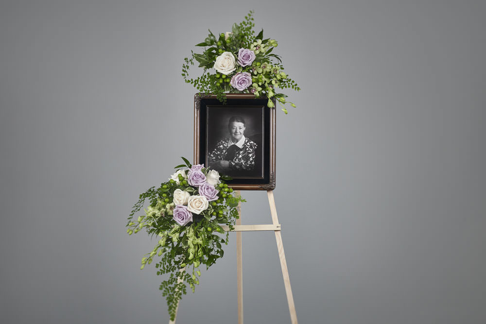 Baba Photo frame - Lavender Picture Frame Easel