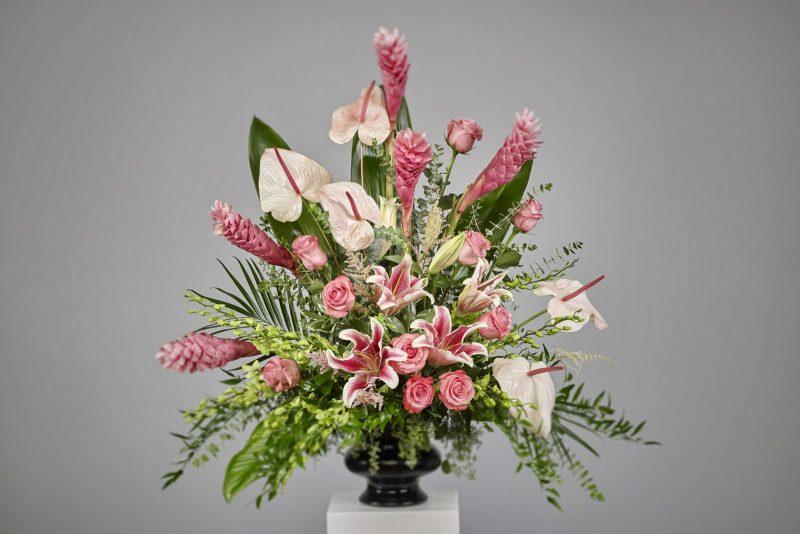 Exotic Pink Vase