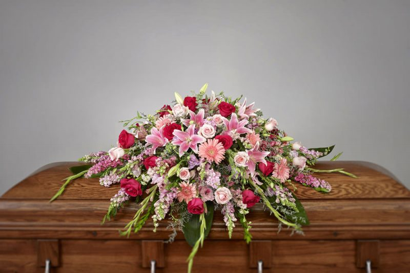 Pink Casket109 800x534 - Pink Casket Spray