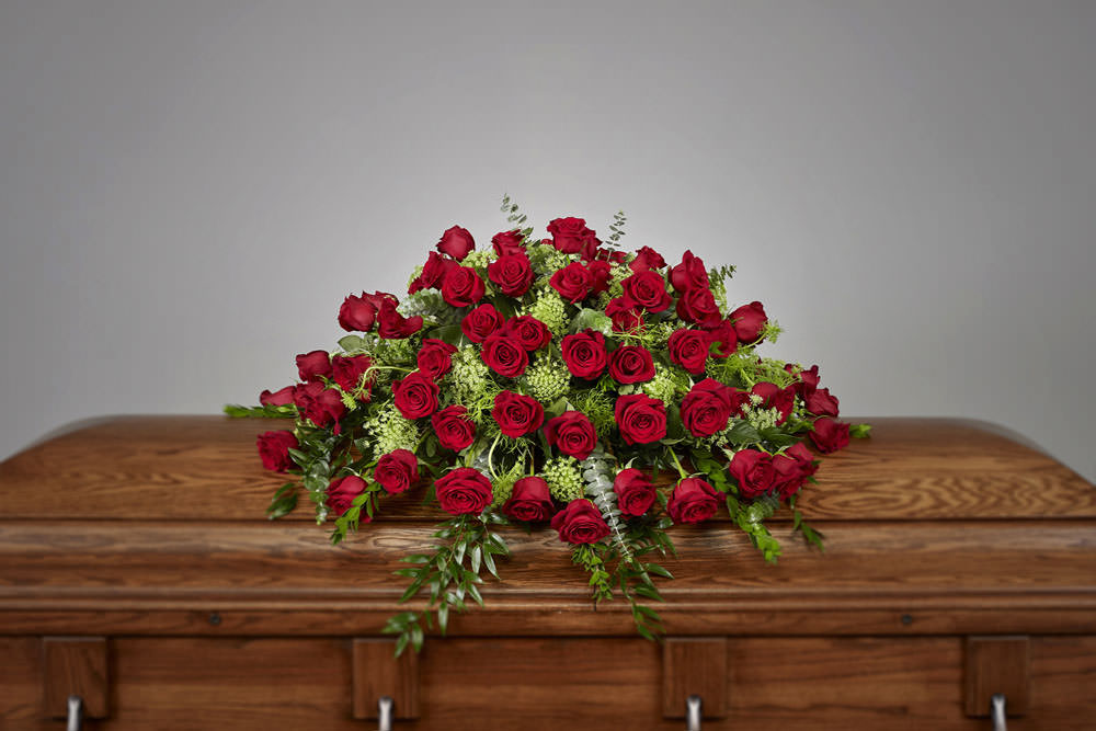 Rose Casket - Rose Casket Spray