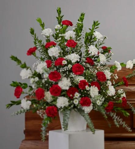 Vase2 - Carnation Collection Arrangement