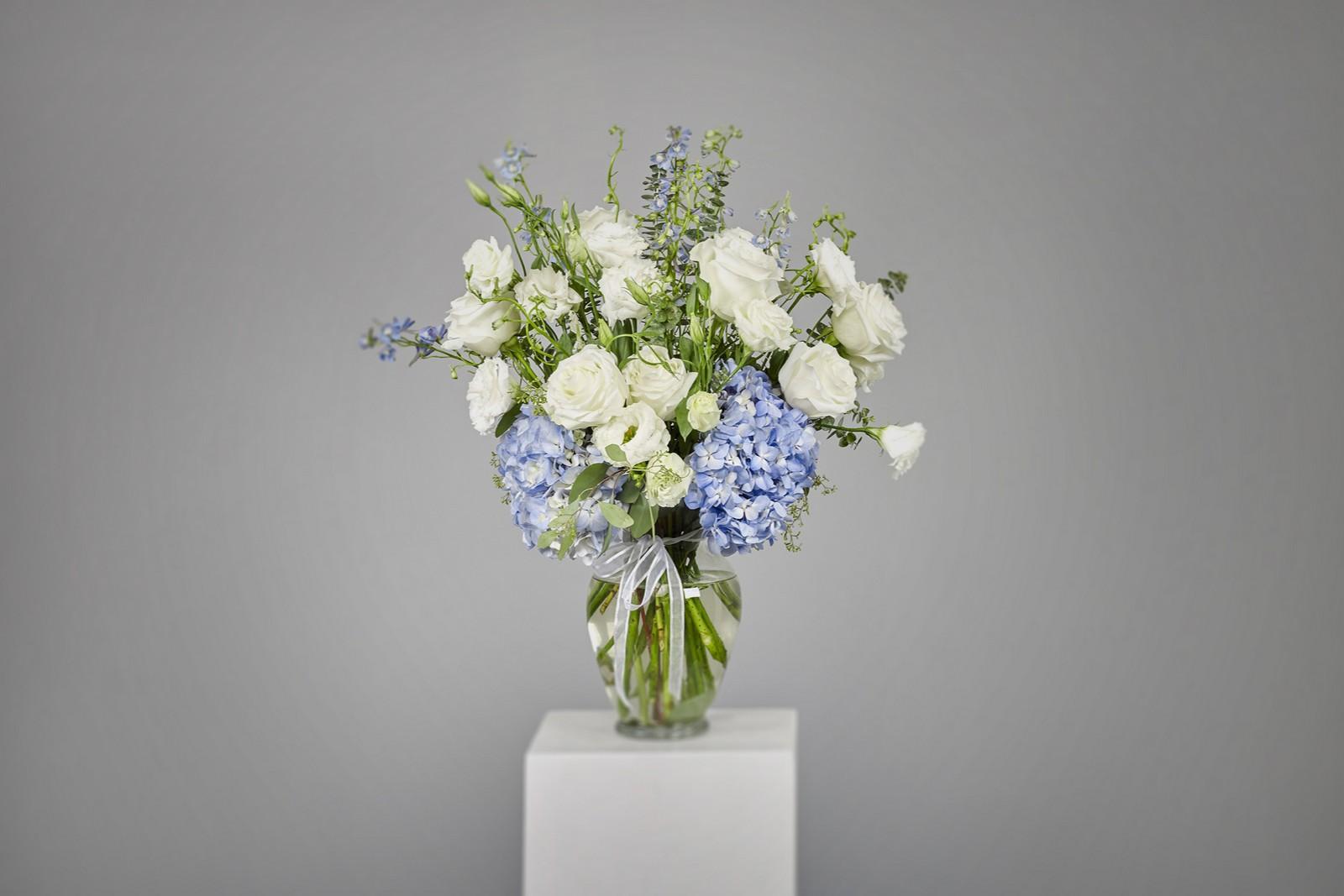 Baby Blue Vase 2