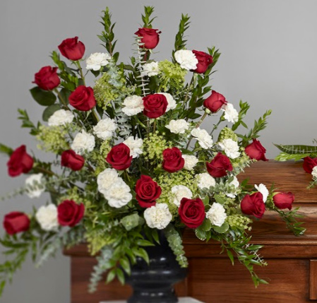 ramsgate69329 package - Roses and Carnation Collection Arrangement