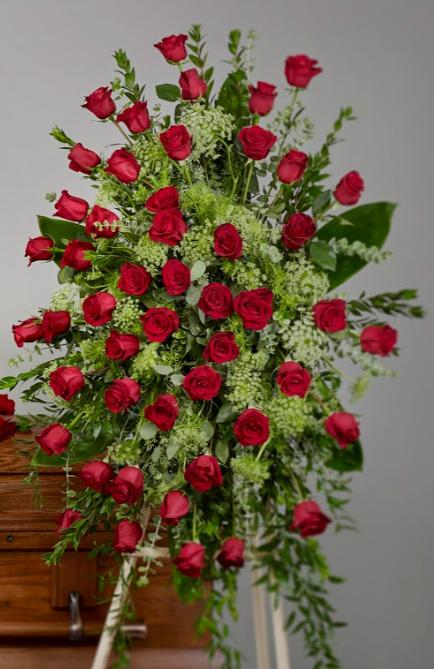 rose casket - Roses Easel