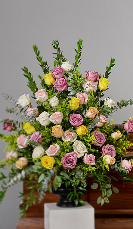 Pastel Rose Arrangement - Pastel Rose Arrangement